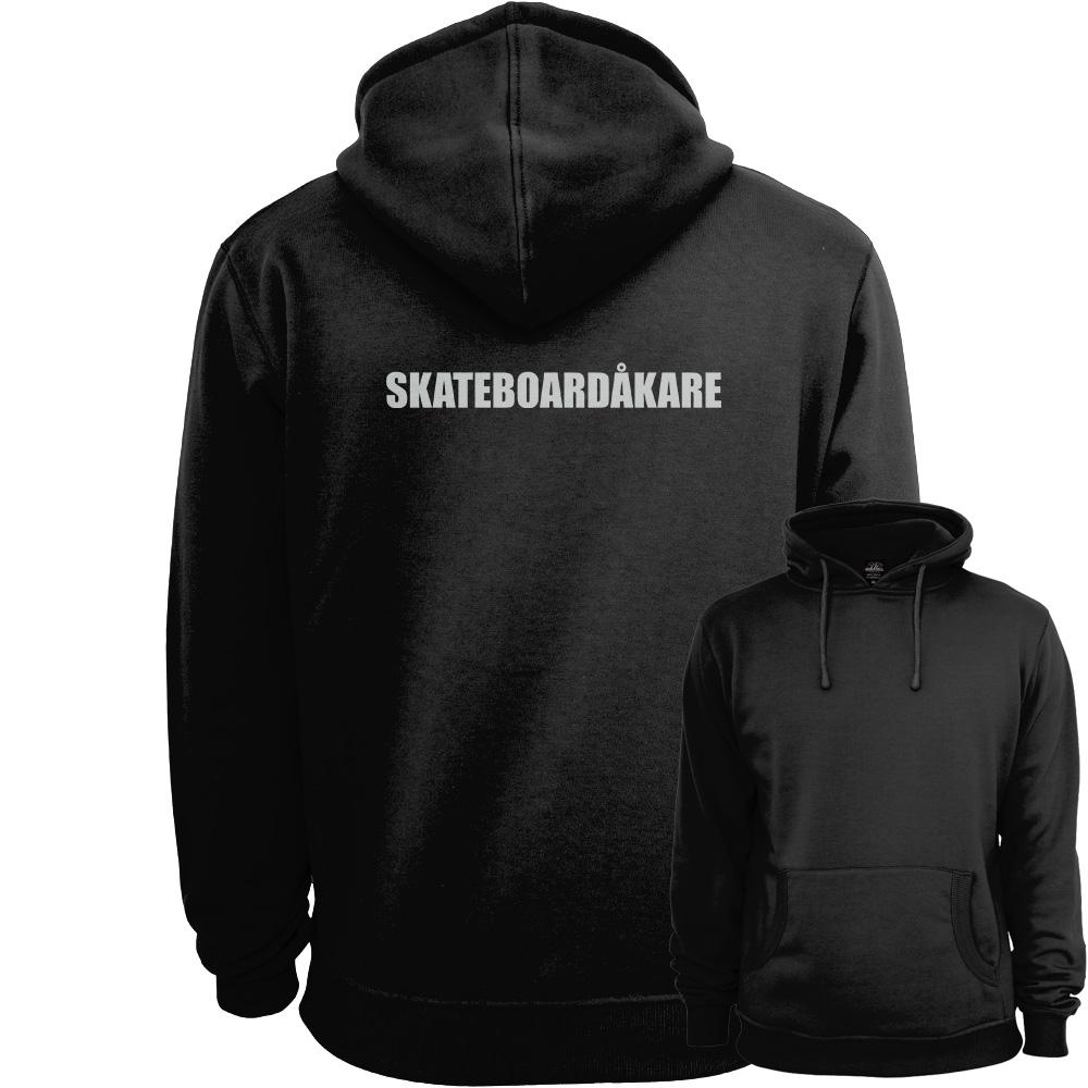 Skateboardåkare Hoodie