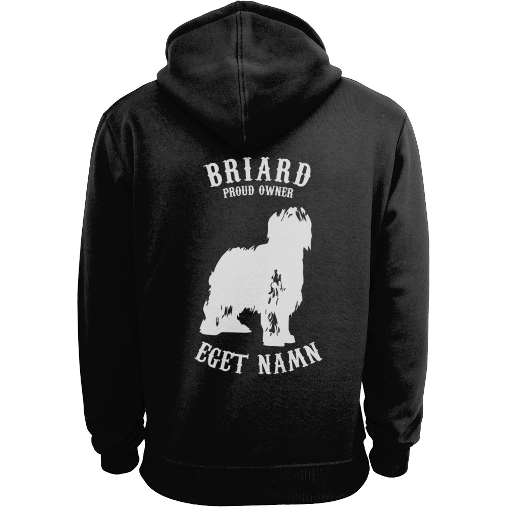 Briard Proud Owner - Eget Namn Ziphood